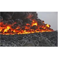Feu pneus incendie