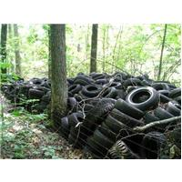 dépôt sauvage pneus