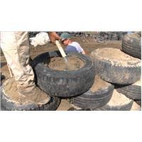 Humanitaire recyclage pneus