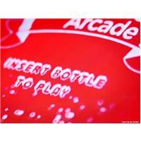 Arcade Coca-Cola recyclage