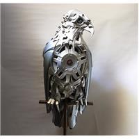 Artiste recyclage voiture
