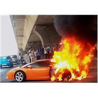 Lamborghini feu