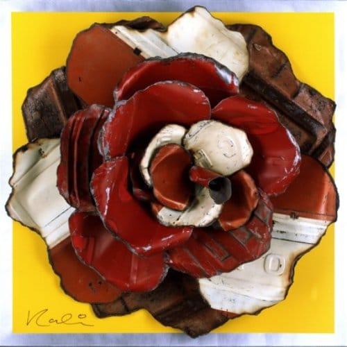 michael kalish rose on yellow