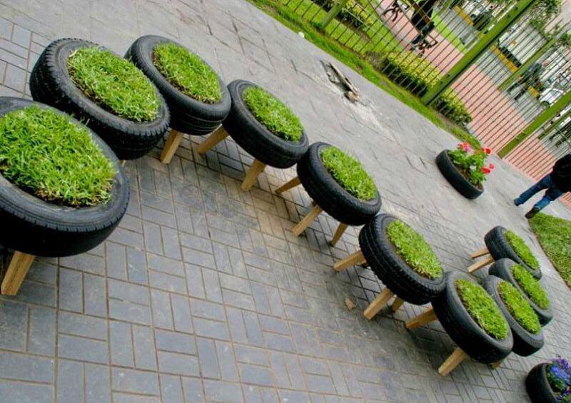 6 tapes indispensables au recyclage d 39 un pneu recyclage pneu. Black Bedroom Furniture Sets. Home Design Ideas