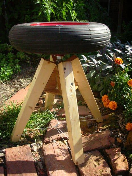 tabouret pneu