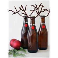 Déco Noël bouteille
