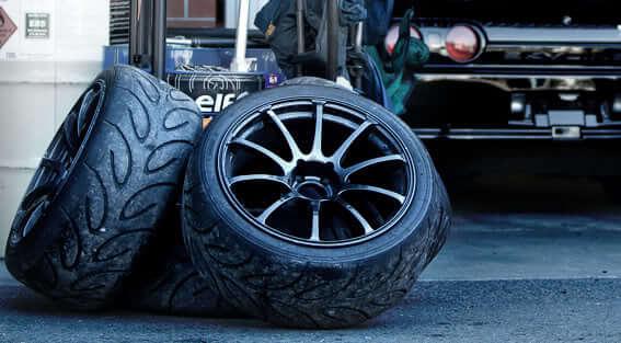 pneus usés Yokohama