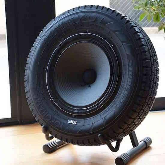 récupération pneu son