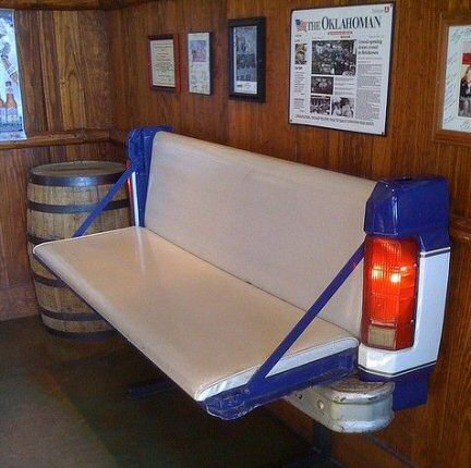 pick up recyclage banc