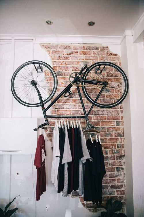 bicyclette penderie