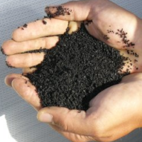 granulat pneus recyclés