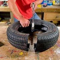bricolage pneu