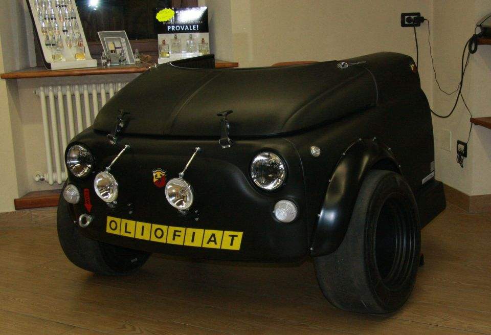 voitures recyclées : fiat 500 Abarth