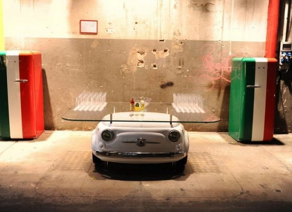 Table Fiat 500