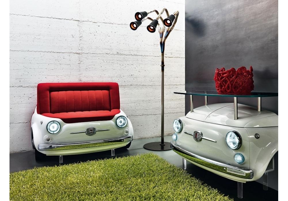 Mobilier Fiat 500 recyclée