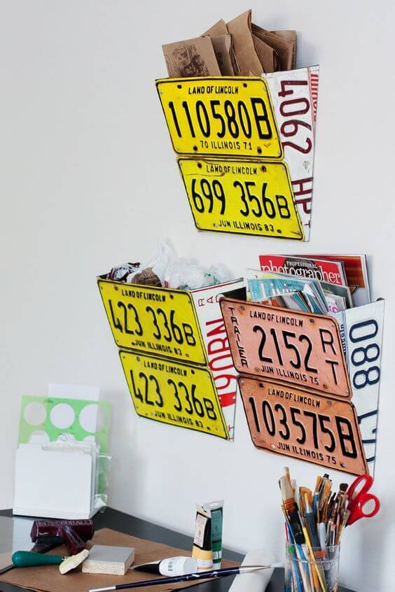 recycler plaques immatriculation bureau