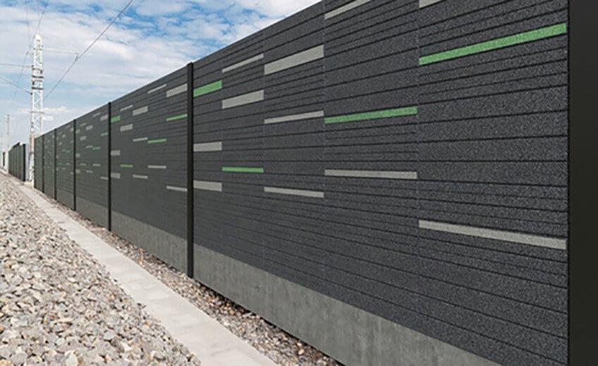 mur anti bruit : idées recyclage